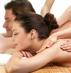 A Valentine's Couple Massage